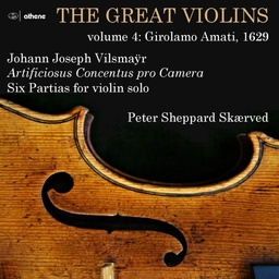 [ATH23210] The Great Violins Vol4 - Peter Sheppard Skærved