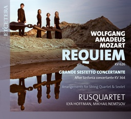 [KTC1643] Mozart Requiem, version pour quatuor / Rusquartet