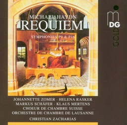[MDG3401245] Michael Haydn Requiem / Christian Zacharias