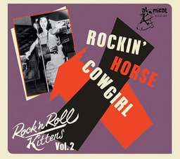[BS22436] Rock'n Roll Kittens, vol.2 Rockin' Horse Cowgirl